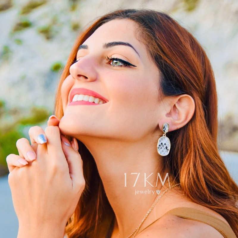 17KM New Women's Earrings Vintage Drop Earrings For Women Bohemian Snake Skin Earring 2019 Bijoux Female Statement  Jewelry Gift