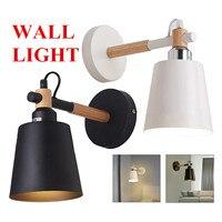 220 В E27 современный настенный светильник складной кабинет спальня прикроватная лампа Настенный светильник освещение в помещении Бар Декор ...