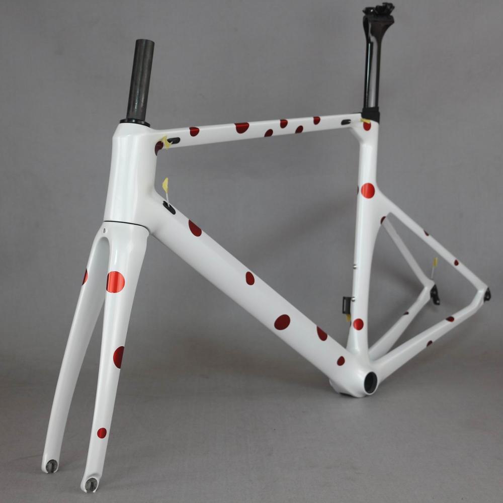 Japan Carbon Racing Frame  Carbon Road Frame Bicycle New Design Carbon Road Bike Frame TT-X1  SERAPH Brand Frame