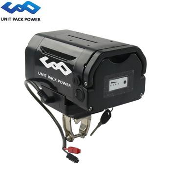 Zacisk sztycy E rower bateria 36V 14Ah baterie litowo-jonowe Samsung do 36V Bafang 250W 350W 500W napęd elektryczny do roweru tanie i dobre opinie UNITPACKPOWER 10-20ah 36 v Bateria litowa Samsung 3 7V 3500mAh 18650 Cells 20Amp continuous 60±10Amp maximum 36V 250W 300W 350W 500W