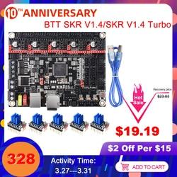 BIGTREETECH SKR V1.4 Scheda di Controllo/BTT SKR V1.4 Turbo 32 Bit 3D Parti Della Stampante SKR V1.3 TMC2208 TMC2209 Per ender 3/5 mini E3