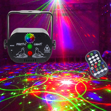 Strobe-Lamp Stage-Lighting-Effect Light-Party Usb-Laser-Projector Disco Voice-Control