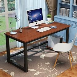 100*50cm drewniane trwałe biurko komputerowe stolik na laptopa do pracy w domu w Biurka na laptopy od Meble na