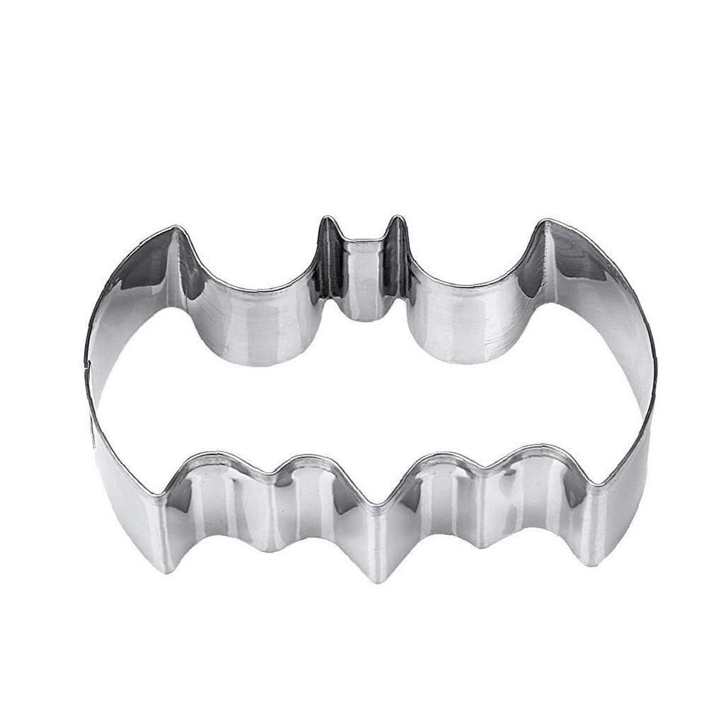 باتمان كوكي قاطعة الفولاذ المقاوم للصدأ قالب الكعكة هالوين زينة عيد الميلاد البسكويت الخبز قالب لوازم المطبخ