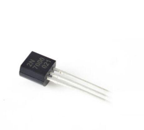 1000pcs New 2N7000 MOSFET N CH 60V 200MA TO 92