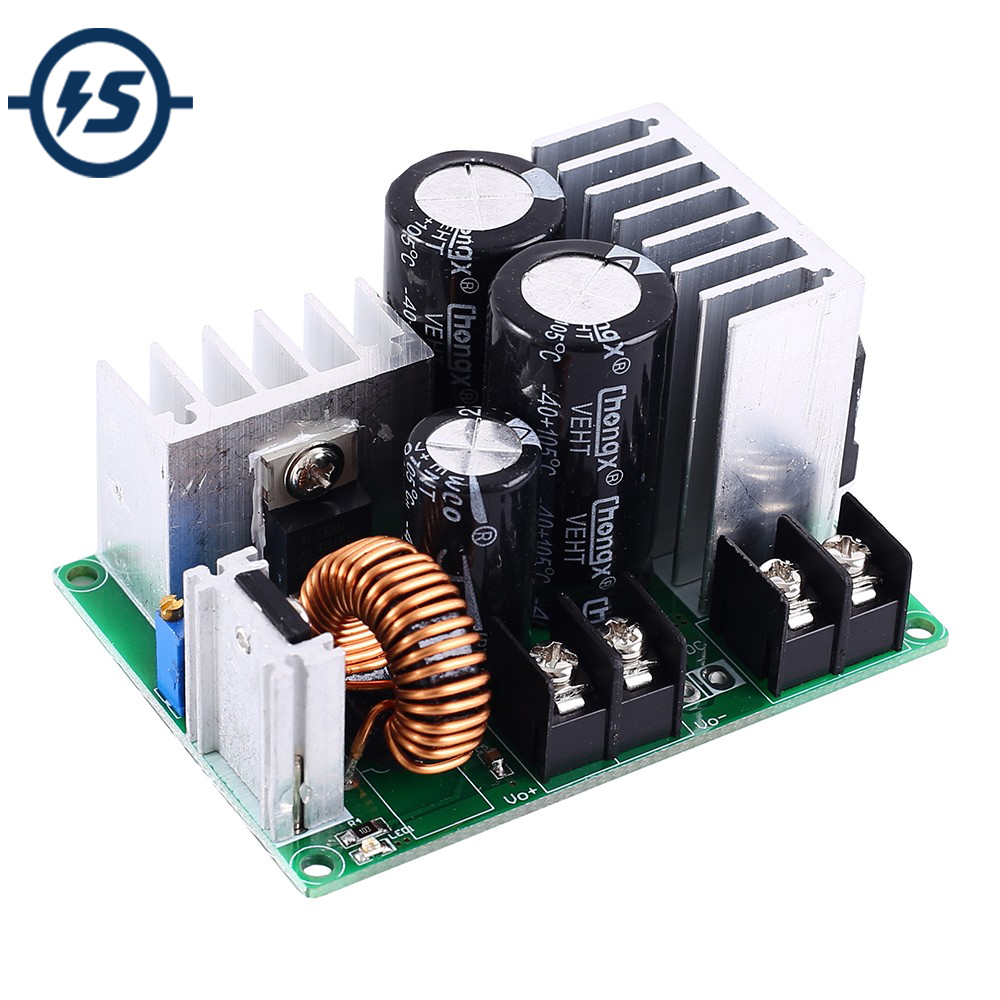 Step Down Power Supply Module AC-DC DC-DC 80W Buck Einstellbare Spannung Konverter AC 5 V-25 V DC 5 V-40 V zu DC 3,3 V-30 V