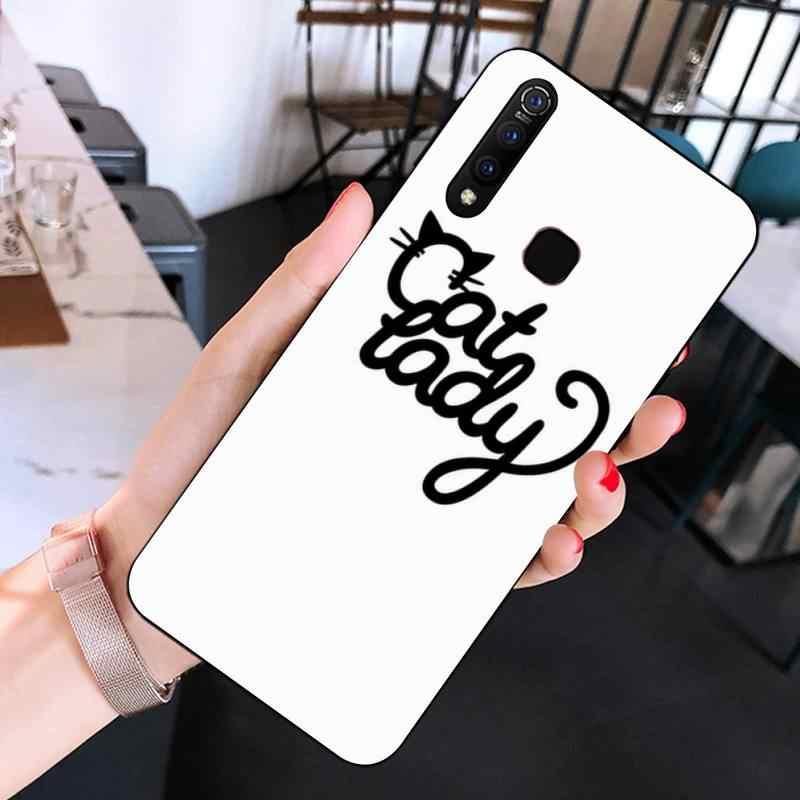 Maiyaca bruxa e gato preto casca macia capa de telefone para huawei y 7 s 7 pro 9 6 y5 prime 2018 y7 9 5 6 pro 2019