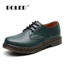 Plus Size Split Leather Men Boots High Quality Men Shoes Lace-up Autumn
