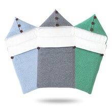 Sacos de dormir para bebês, vestidos de inverno, quente, de malha, para bebês, meninos e meninas, envelopes 0 6m