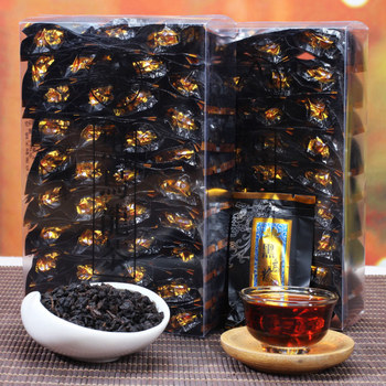 Black Oolong Tea Charcoal Techniques Health-preserving Tea Weight-loss, Body-thinning and Beauty-pre