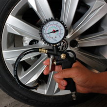 Universal Auto Reifen Reifen Luftdruck Gauge Auto Meter Display Inflator Manometer Barometers Tester für Auto Lkw Motorrad