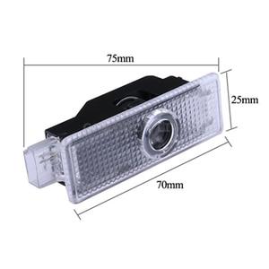 Image 3 - 2pcs Car LED Door Light Decor For BMW Emblem M5 E91 E92 E93 M3 E63 E64 E68 E85 E87 F01 F02 Ghost Shadow Projector Accessories
