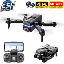 2021 New Kk1 Mini Drone 4k Hd Camera profesional Rc Drones Wifi Fpv Dron Toy Outdoor Rc Quadcopter Fixed height Helicopter Toys