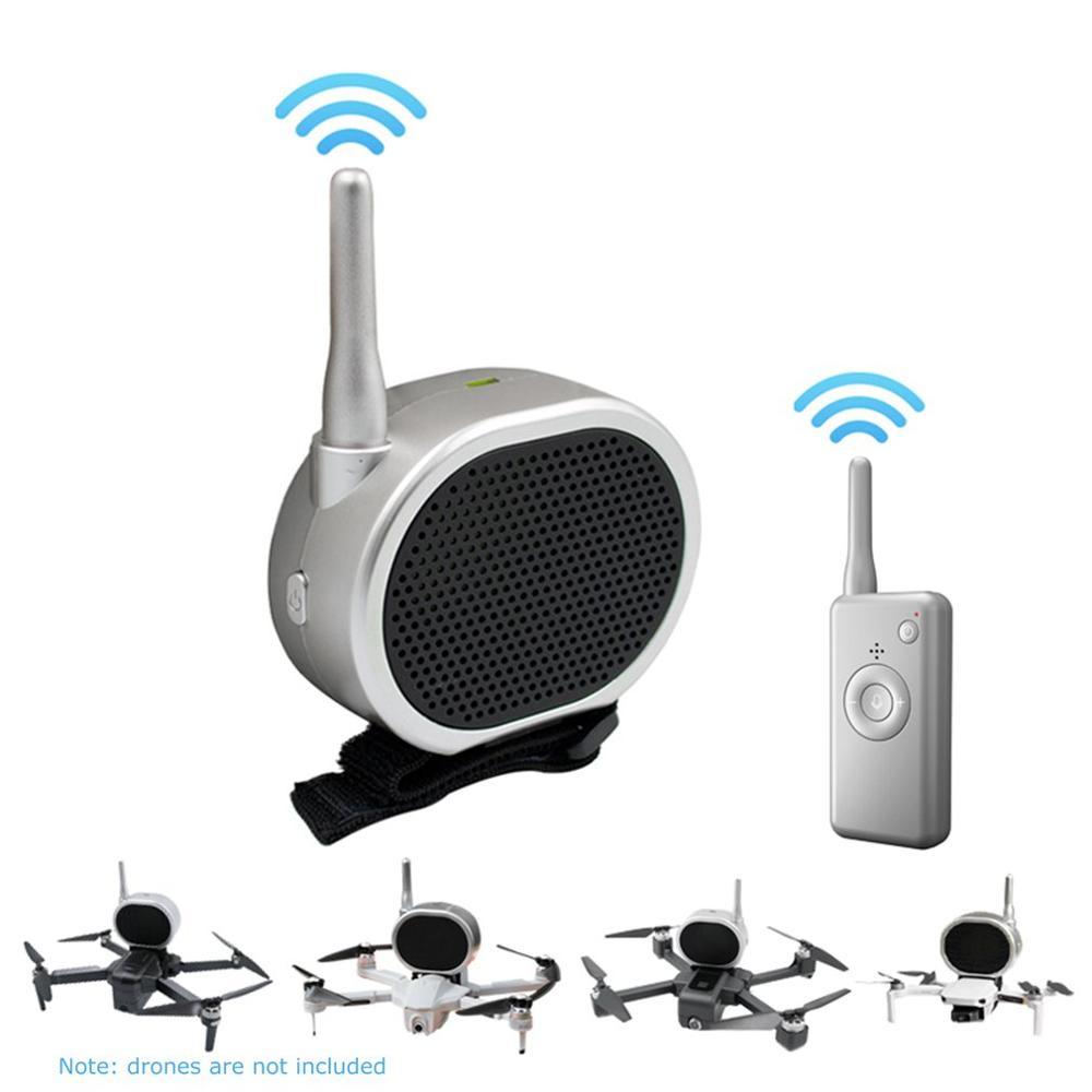 NEW Drone Luidspreker Megafoon Voor Drone Camera Antenne Omroep Met Een Luidspreker