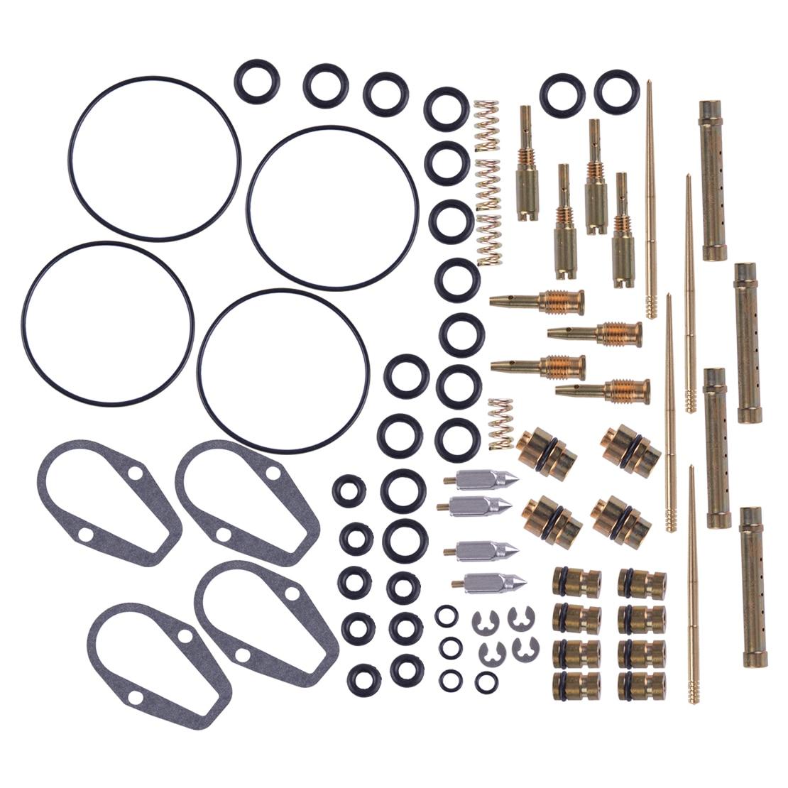 LETAOSK 4 Set Carburetor Rebuild Carb Repair Kit Jets Gasket Fit For Honda CB500K CB500 Four CB 500 R92