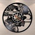 Виниловые часы Keep Calm And Play  Пейнтбольные мотивационные цитата для настенного декора  настенные часы для записи  спортивные часы