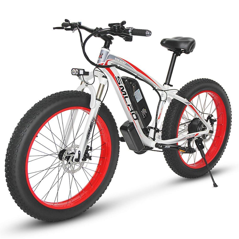 Европейский уровень качества 48 в 1000 Вт Мотор 17.5AH SAMSUNG литиевая батарея электрический велосипед 26 дюймов Электрический толстый велосипед бе...