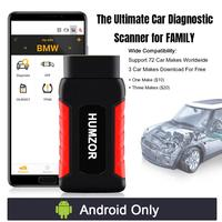 HUMZOR NEXZDAS ND201 Full Systems Obd2 Scanner Code Reader OBD 2 Diagnostic Tool Oil EPB TPMS Reset Tool Car Diagnostic Scanner