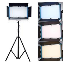 1 pc yidoblo led lamp light d 3100ii 200w 20000 lumen studio professional multi color photography led video continue light Yidoblo A-2200BI LCD Display Pro LED Lamp Soft light Bio-color led panel light For Photography Lamp APP Remote control set