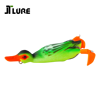 110mm 19g Weedless Frog Soft Fishing Lure 3D Hollow Body Duck Bait Artificial Matte Finish Jerkbait for Snakehead