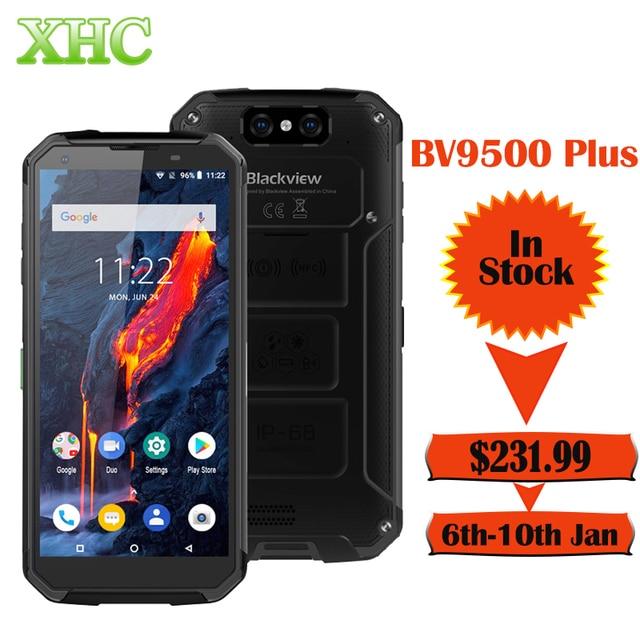 IP68 impermeable Blackview BV9500 más Helio P70 Octa Core Smartphone 10000mAh 5,7 pulgadas FHD 4GB 64GB Android Teléfono Móvil con doble sim