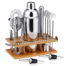 14-Piece Cocktail Shaker Bar Set Stainless Steel Bartender Kit Mixer Drink Bartender BrowserKit Bars Set Tool Accessories Tools