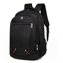 Large-capacity Student Schoolbag Casual Solid Color Material Oxford Man's Backpack Multi-functional