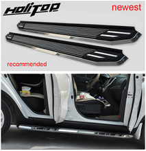 Thicken luxurious running board 사이드 스텝 nerf bar for Nissan X trail Rogue 2014 2015 2016 2017 2018 2019 2020, 로드 300kg,