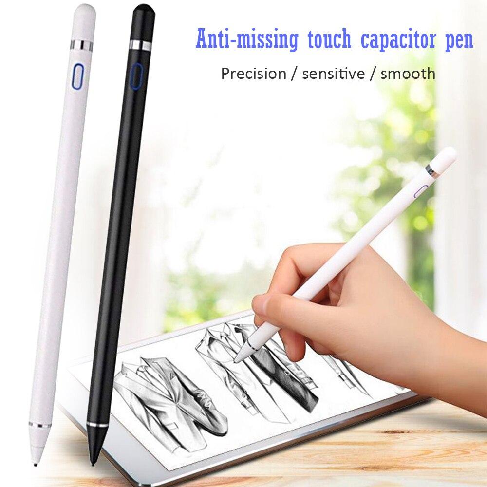 Stylus Pen Fine Tip Active Digital Stylus Pencil For Apple IPad Pro 11 12.9 10.5 9.7 2017 2018 For IPad Mini 5 4 3 2 1 Air 1 2 3