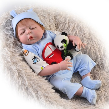 Lifelike Boneca Reborn Baby Doll Soft Real Touch Full Silicone Toys For Children Birthday Gift alive boy newborn Kids Playmate