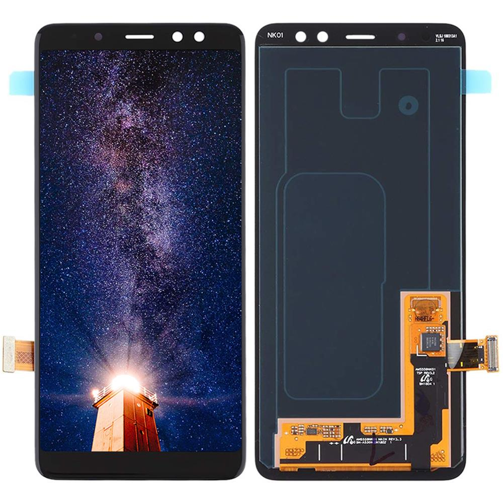 For Samsung Galaxy A8 2018 A530 <font><b>A530F</b></font> A530DS LCD Display <font><b>Screen</b></font> Digitizer Touch Panel Glass Sensor Assembly <font><b>Replacement</b></font> Part image