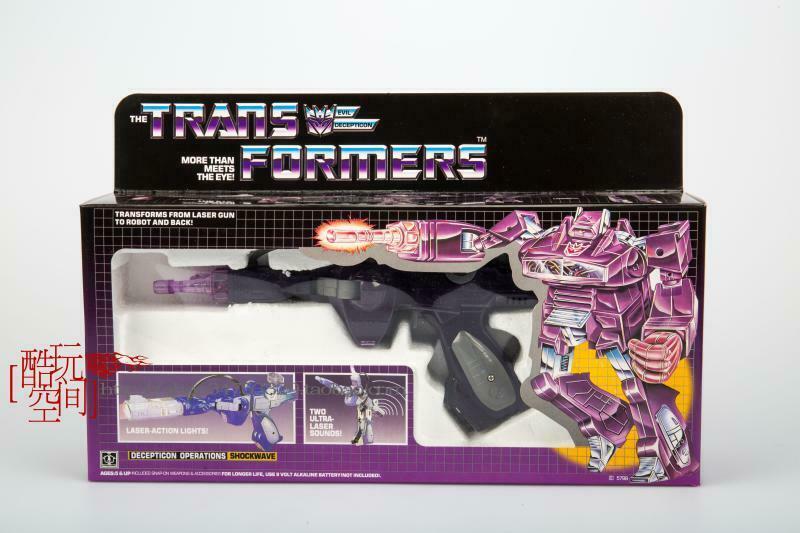 Transformers G1 Shockwave reissue brand new Gift Toys