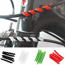 5 шт. велосипедный тросик тормоза протекторы антифрикционным материалом Корпус резиновый протектор рамы велосипеда езда на велосипеде Обёрточная бумага гвардии трубки