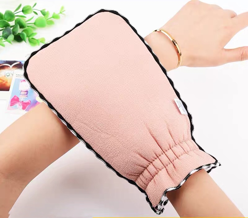 Durable Bath Towel Gloves Hammam Exfoliating Mitt Scrub Glove Preparation Shower Scrub Gloves Body Facial Massage Mitt