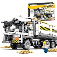 Yeshin 701704 Technic Car Toys The Technic Truck Set Building Blocks Bricks Assembly Construction Truck Toys Kid Christmas Gifts