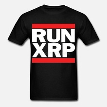 Новинка 2019, Мужская футболка, RUN XRP-Ripple, футболка-Run DMC, пародия криптовалюты, Биткоин, BTC, Майнинг, футболка