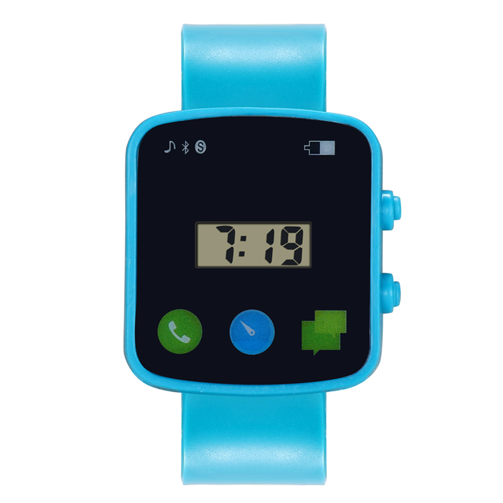 Kids Electronic Watch Children Comfortable Silicone Strap Square Dial Sports Watches For Boys Girls  LL@17