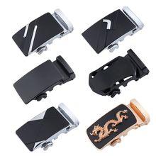 Мода металлические пряжки ремня автоматическое сплава пряжка уникальные мужские доска 4см ширина Мужская одежда мужской бизнес LCKK065 7см