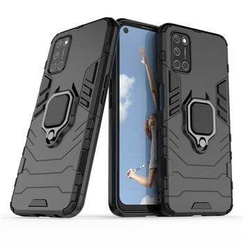 Перейти на Алиэкспресс и купить Противоударный бампер для OPPO A52 чехол для OPPO A72 A12 A9 Realme C11 X50 XT Reno4 6 Pro силиконовый защитный чехол для телефона из поликарбоната