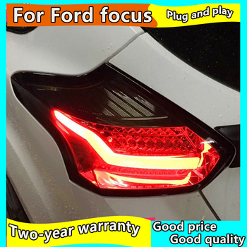 Car Styling Tail Light For Ford Focus Hatch-back Taillights 2015-2017 Full LED Tail Lamp Rear Lamp DRL+Brake+Park+Signal light