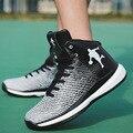 Новая спортивная баскетбольная обувь высокого качества  Мужская нескользящая обувь  пара повседневных кроссовок  обувь большого размера