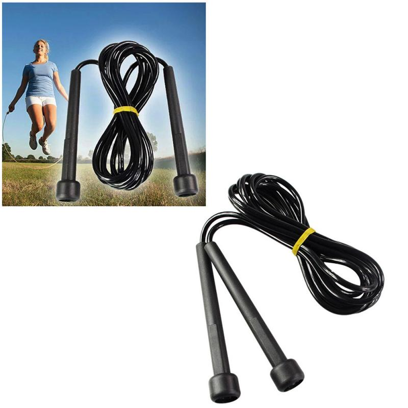 Jump Rope Speed Skipping Rope Wire Jumping Ropes For Boxing Gym Fitness Training 2.6M Adjustable Speed Gym Fitness Equipment