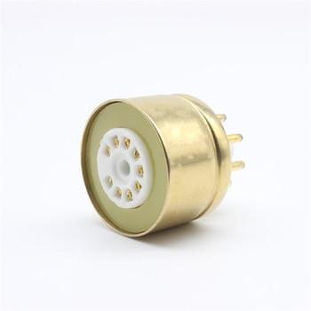 EL84 6BQ5 6P14 To 6V6 Vacuum Tube Amplifier Convert Socket Adapter test el84 6bq5 el34 kt88 7591 7591a 6p14 6l6 6ca7 6v6 5881 6550 kt66 kt100 kt120 vacuum tube tester amplifier bias ma version t2