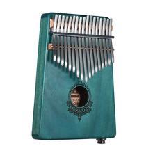 17 клавиш kalimba портативное пианино для большого пальца (с