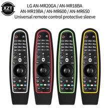 קסם שלט רחוק LG חכם טלוויזיה AN MR600 AN MR650 AN MR18BA MR19BA MR20GA רך מגן סיליקון מכסה עמיד הלם