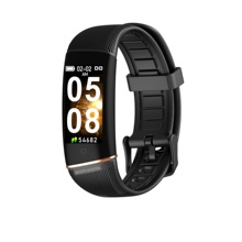 E98 Inteligente Pulseira Homens Mulheres Pista de Fitness Monitor de Freqüência Cardíaca Banda Inteligente Relógio Pressão Arterial IP67 Esporte Smartband Smartwatches