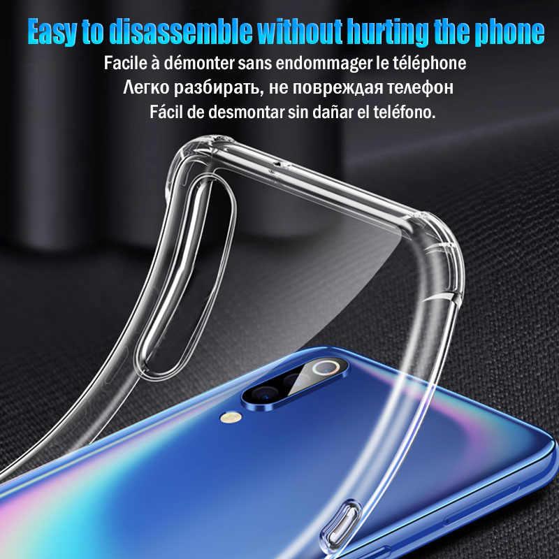 Antiurto Per Il Caso di Xiaomi Mi Nota 10 Pro 9T 9 Lite 6 8 SE A3 Caso Per La Nota Redmi 9s 8 7 Pro 6 5 8T K20 K30 7A 8A Della Copertura Del Silicone