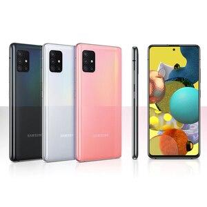 Мобильный телефон Samsung Galaxy A51 A515F/DSN, 6 ГБ ОЗУ 128 Гб ПЗУ, Восьмиядерный, 6,5 дюйма, 1080x2400, 4000 мАч, 4 камеры, Android 10, оригинал 2020