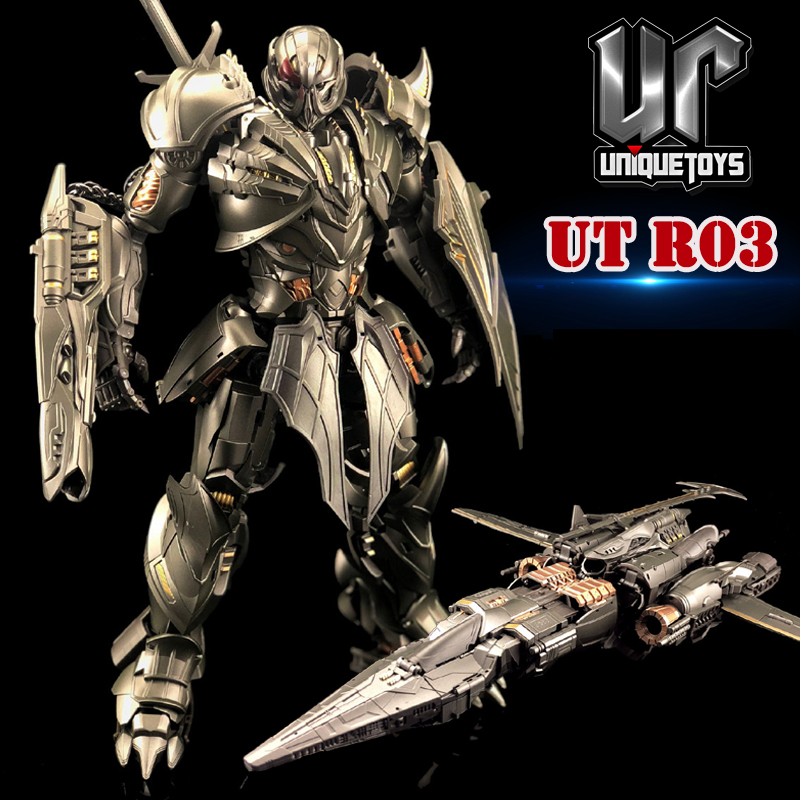 Unique Toys Transformaton UT R03 R-03 Knight Warrior Movie Alloy Action Figure Robot Deformation Toys Gifts