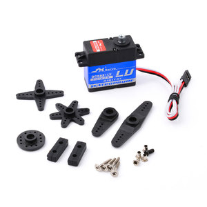 Image 3 - JX DC5821LV 21.8kg Metal Gear Digital Waterproof Servo for 1/8 1/10 RC car Scaler Buggy Crawler TRAXXAS RC4WD TRX 4 SCX10 D90